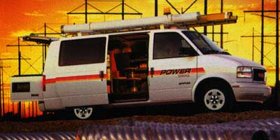 1998 GMC Safari Cargo Van