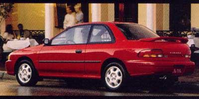 1999 Subaru Impreza Coupe