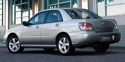 2007 Subaru Impreza Sedan (Natl)