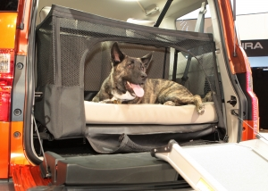 Honda Element dog-friendly pet bed