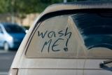 Wash me, dirty car, good morning america