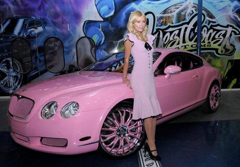 Hilton's Bentley
