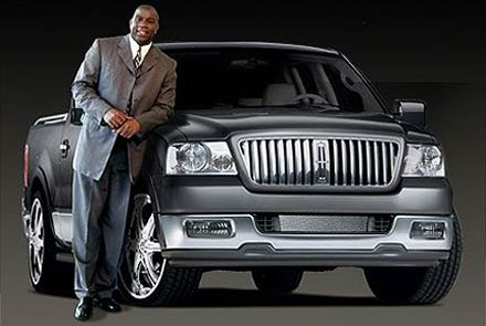 Magic Johnson's Lincoln Mark LT
