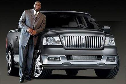 Magic Johnson's Lincoln Mark LT