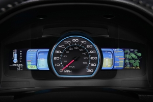 2010 Ford Fusion Hybrid EcoGuide Display