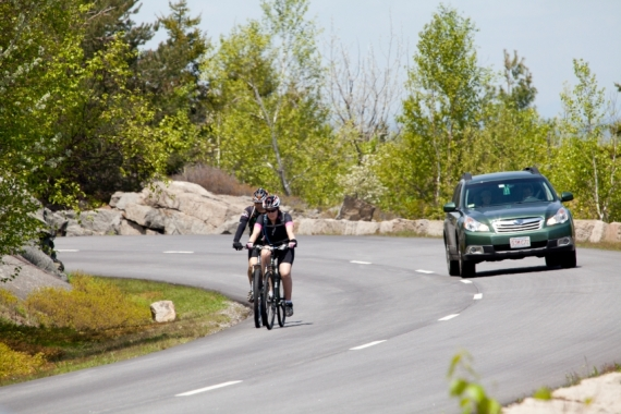Bicyclists and Cars