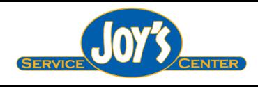 Joy's Service Center